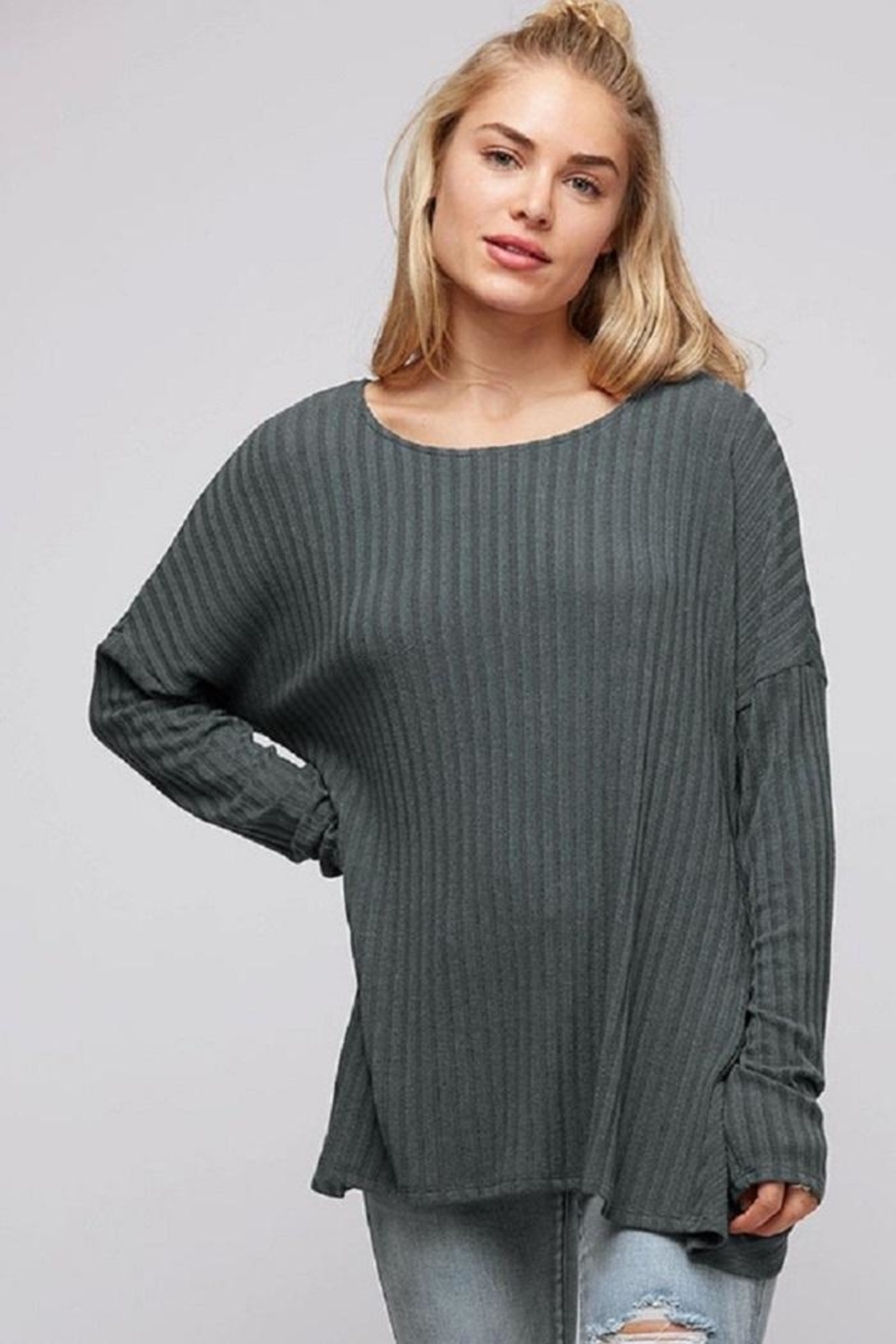 Fantastic Fawn Open Back Top - Side Cropped Image