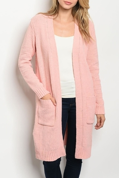 Fantastic Fawn Pink Knit Cardigan - Product List Image