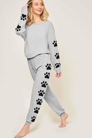 Fantastic Fawn Puppy Print Pullover - Front full body