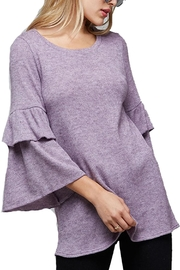 Fantastic Fawn Ruffle Sleeve Top - Product Mini Image