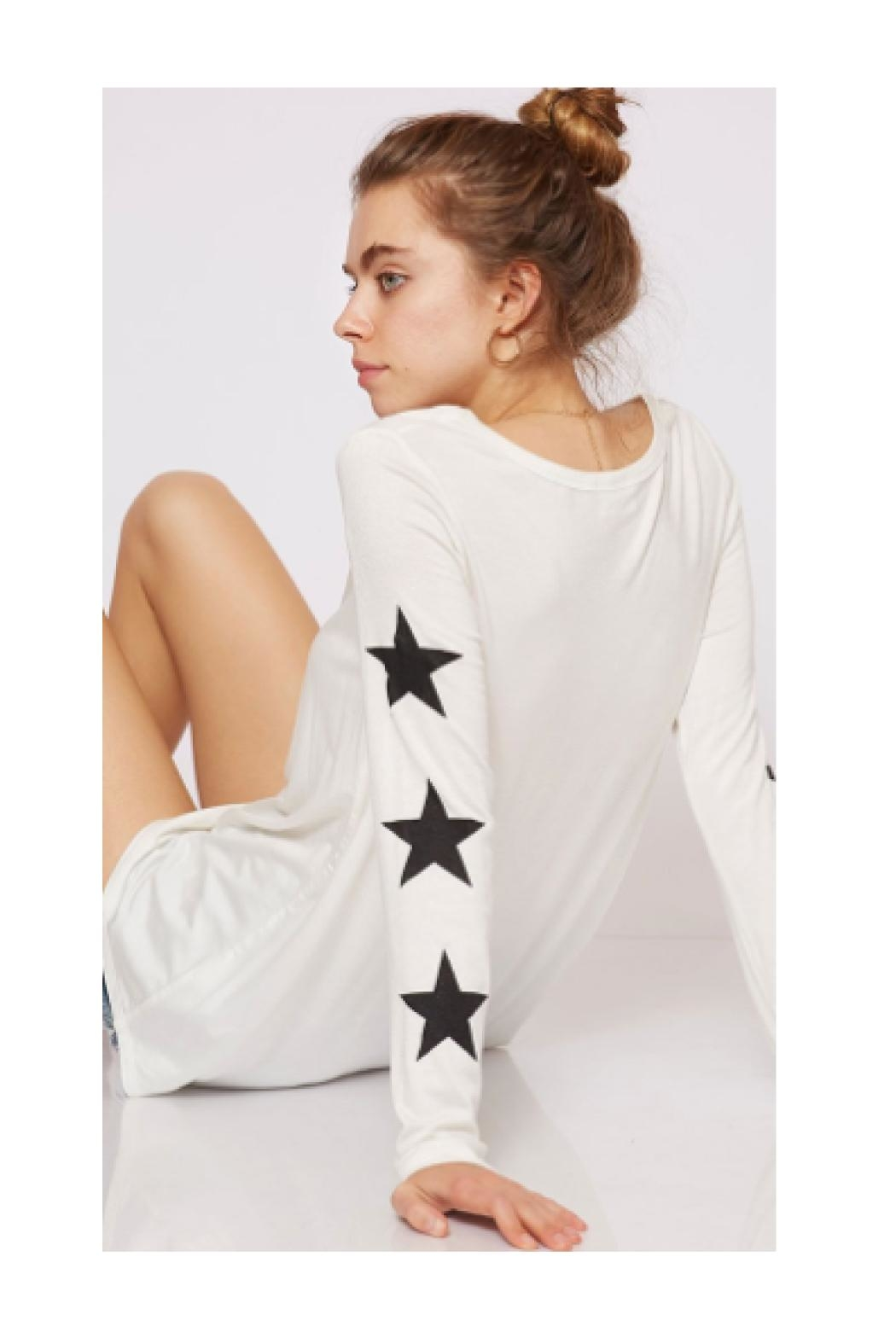 Fantastic Fawn Star Graphic Top - Main Image