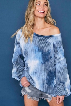Fantastic Fawn Tie Dye Sweater - Product List Image