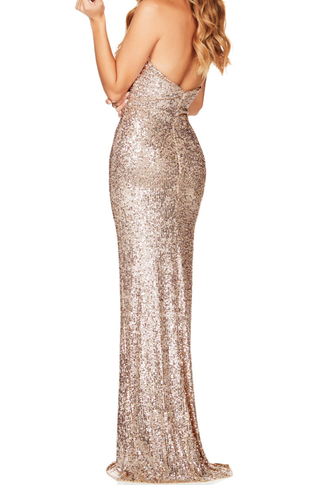 Nookie Fantasy Gown - Side Cropped Image