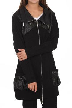 Shoptiques Product: Black Zip Jacket