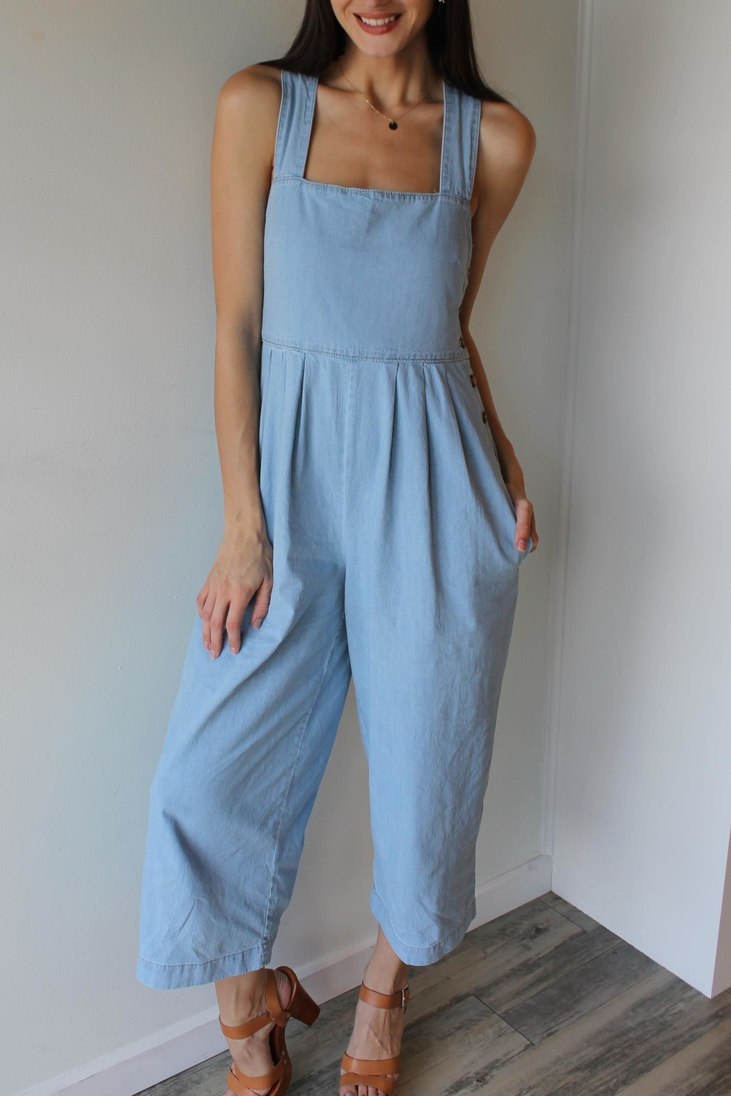 Free People Fara Jumpsuit - Front Cropped Image