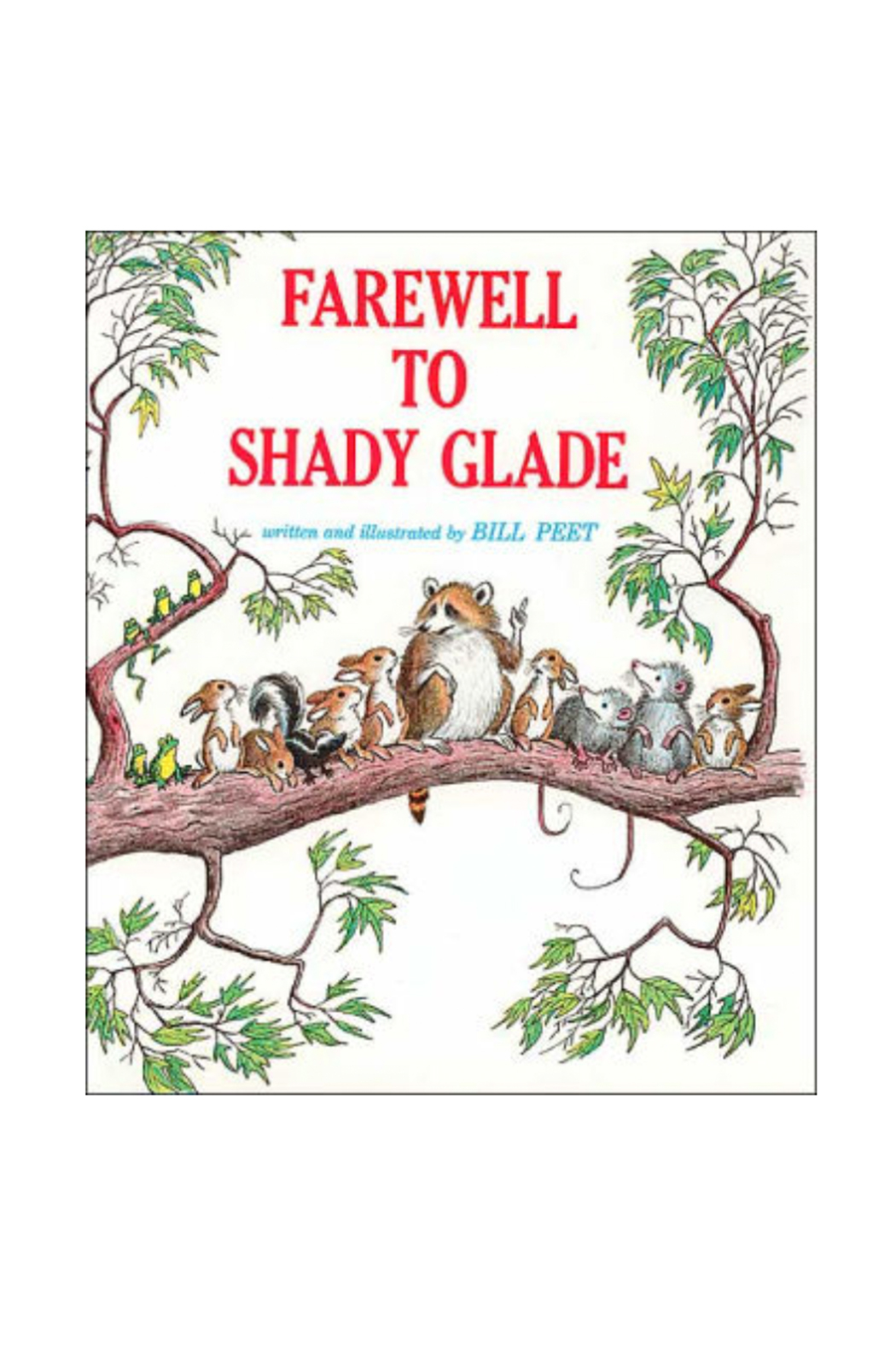 Houghton Mifflin Harcourt  Farewell to Shady Glade - Main Image