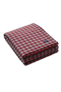Shoptiques Product: Dawson Houndstooth Throw Blanket