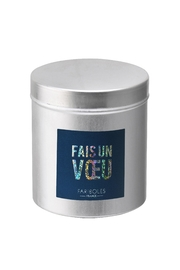 Fariboles Glitter Candle - Front cropped