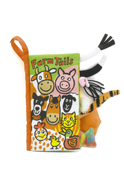 Jellycat Farm Tails Book - Front cropped