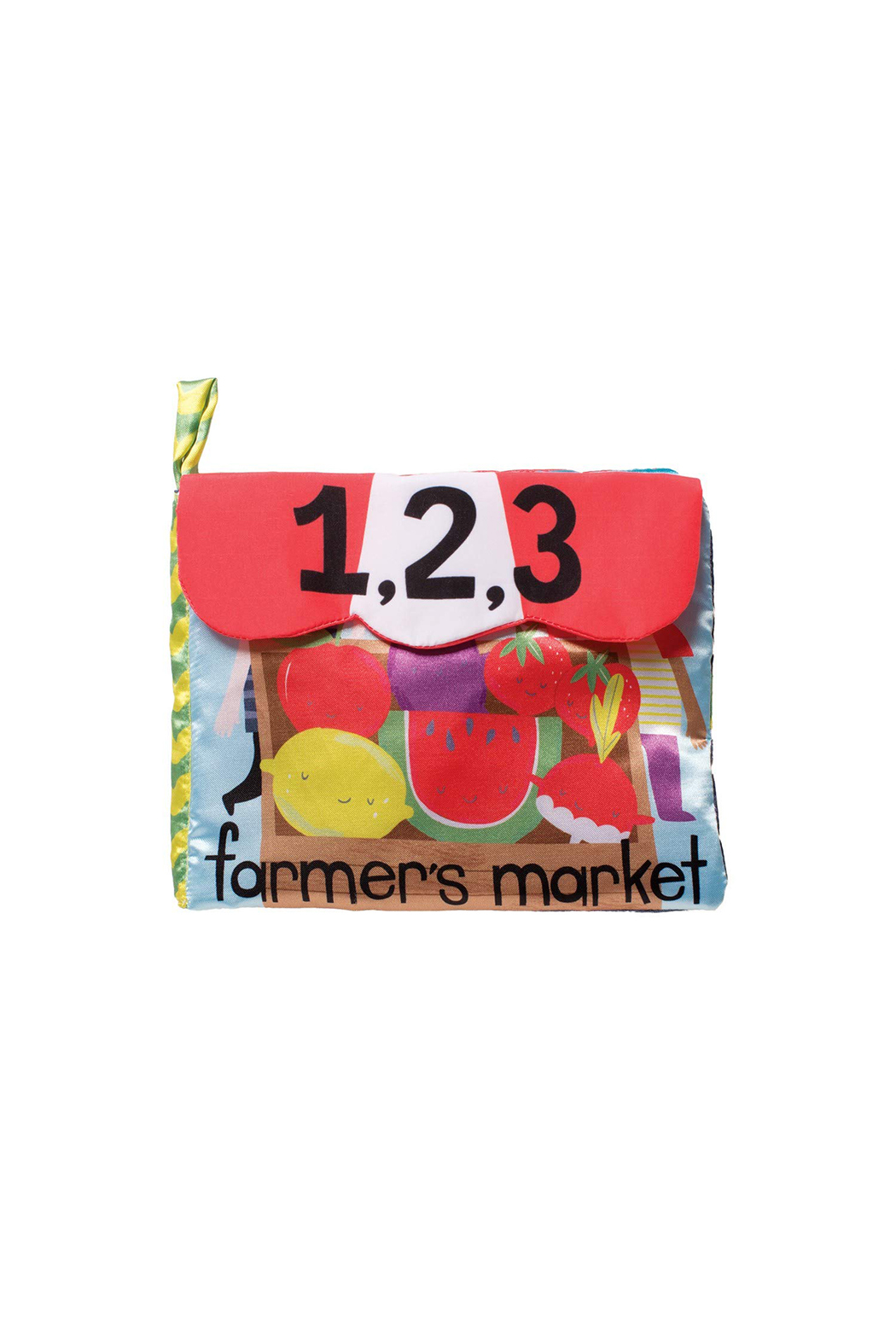 Manhattan Toy Company Farmers Market Book - Front Cropped Image