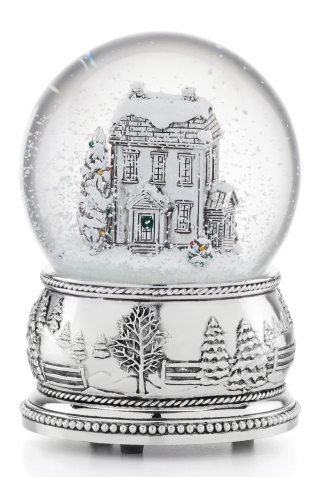 Reed & Barton Farmhouse Snow Globe - Front Cropped Image