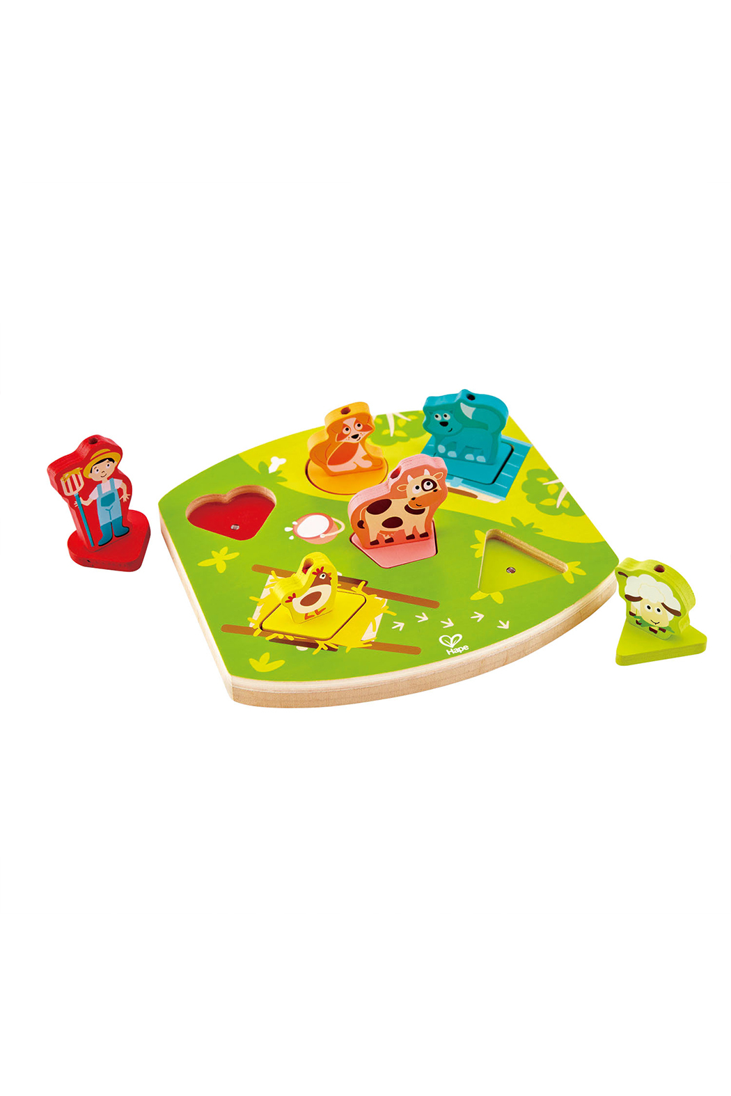 Hape Farmyard Sound Puzzle - Front Full Image