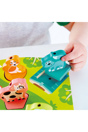 Hape Farmyard Sound Puzzle - Side cropped