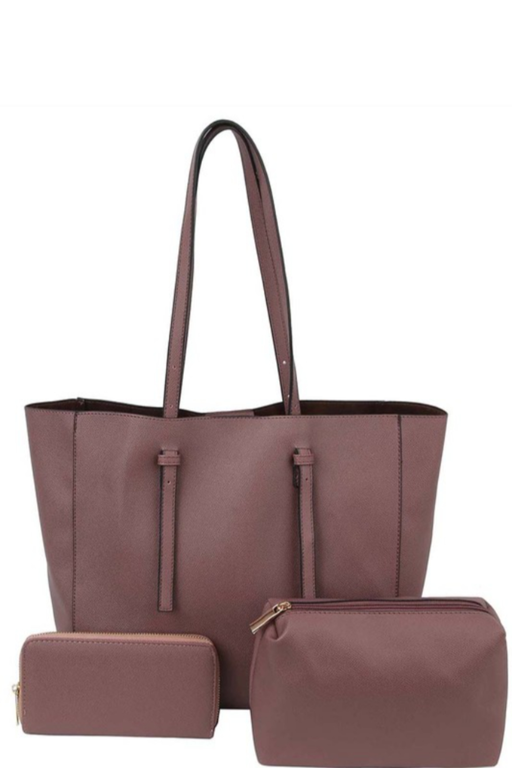 Bag Boutique Farrah 3-in-1 Tote - Front Cropped Image