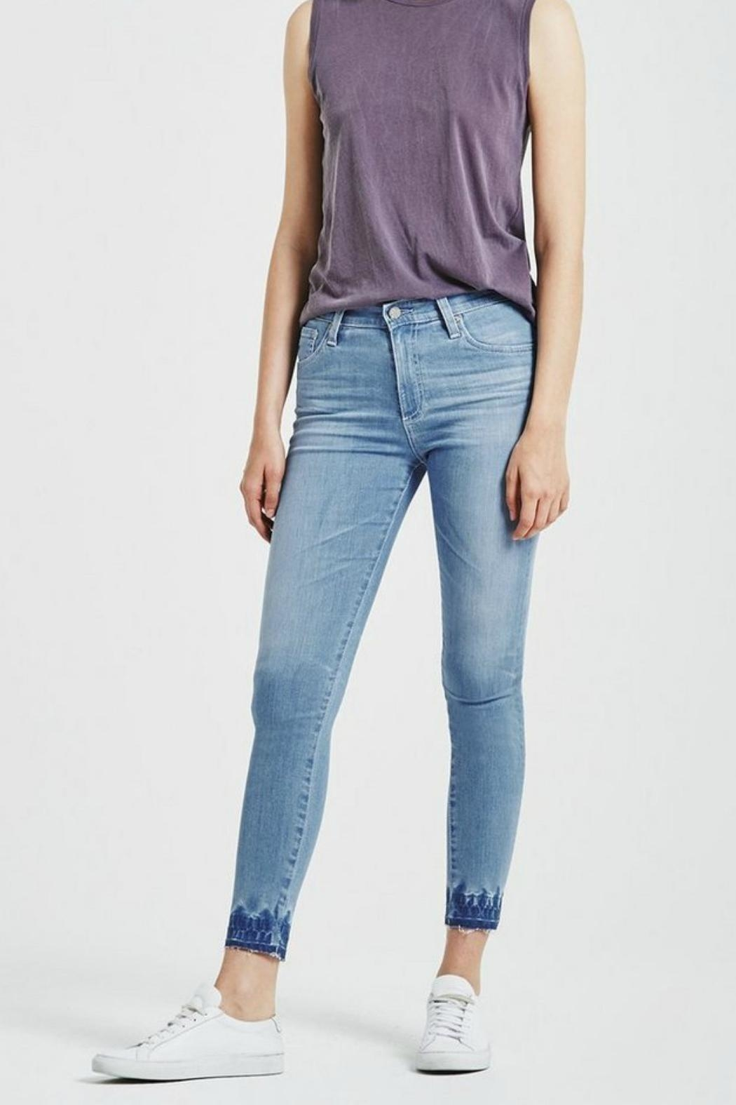 AG Adriano Goldschmied Farrah Skinny Ankle - Front Cropped Image