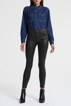 AG Adriano Goldschmied Farrah Skinny Leatherette - Product List Image