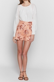 Joie Farron Print Shorts - Front full body