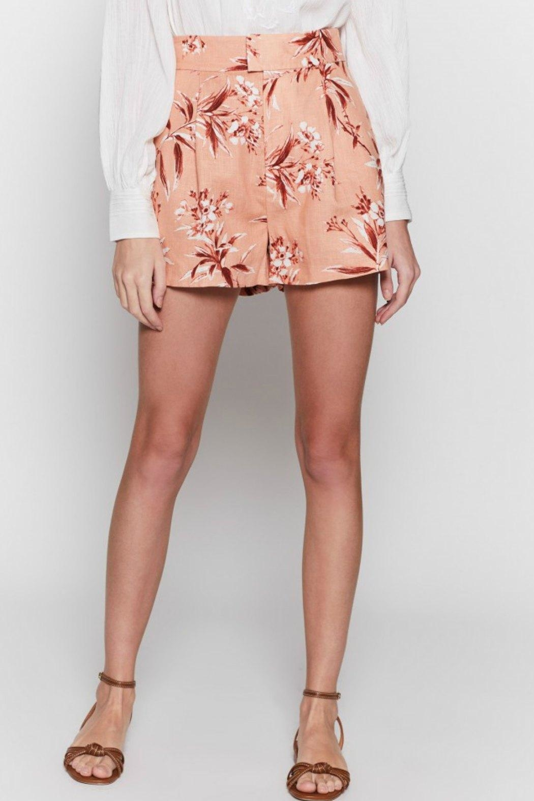 Joie Farron Print Shorts - Side Cropped Image