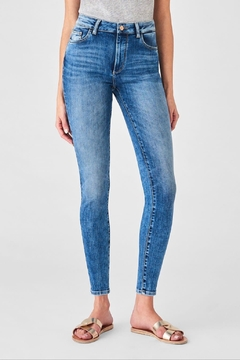 DL 1961 Farrow Ankle High Rise Skinny in Palms - Alternate List Image