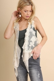 Umgee USA Fashion Crochet Vest - Product Mini Image