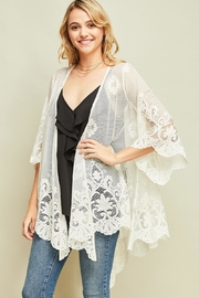 Entro Fashion Lace Kimono - Product Mini Image
