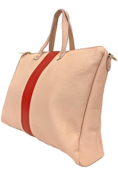 Leather Country Fashion Leather Tote - Alternate List Image