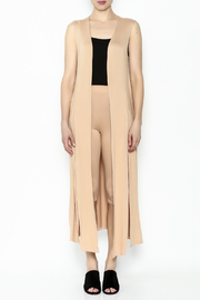 Fashion Love Nude Two Piece Set - Front full body
