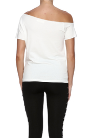 Fashion Love Graphic Top - Back cropped