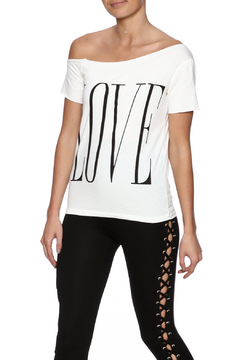 Shoptiques Product: Love Graphic Top