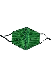 Judson & Co. Mask - Adult-Green-Sequin-Adjustable - Product Mini Image