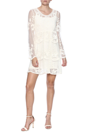 fashion on earth Crochet Lace Dress - Front full body
