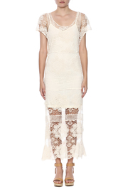 fashion on earth Ivory Romance Dress - Front cropped