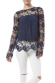 fashion on earth Romance Blouse - Front cropped