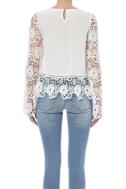 fashion on earth Romance Blouse - Back cropped