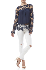 fashion on earth Romance Blouse - Front full body