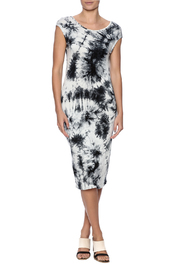fashion on earth Tie Dye Dress - Front full body