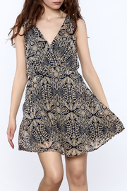 Fashion Pickle Abstract Print Dress - Product Mini Image