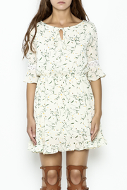 Fashion Pickle Daisy Printed Dress - Front full body