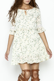 Fashion Pickle Daisy Printed Dress - Front cropped