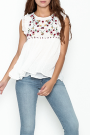 Fashion Pickle Ella Embroidered Top - Front cropped