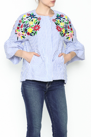 Fashion Pickle Ferera Embroidered Blouse - Product Mini Image