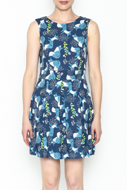 Fashion Pickle Fox Print Dress - Front full body