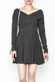 Fashion Pickle Grey Sweater Dress - Product Mini Image