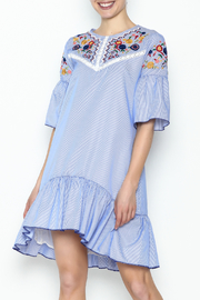 Fashion Pickle Boho Embroidered Dress - Product Mini Image