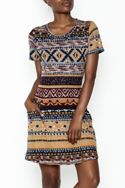 Fashion Pickle Multicolor Sweater Dress - Front cropped
