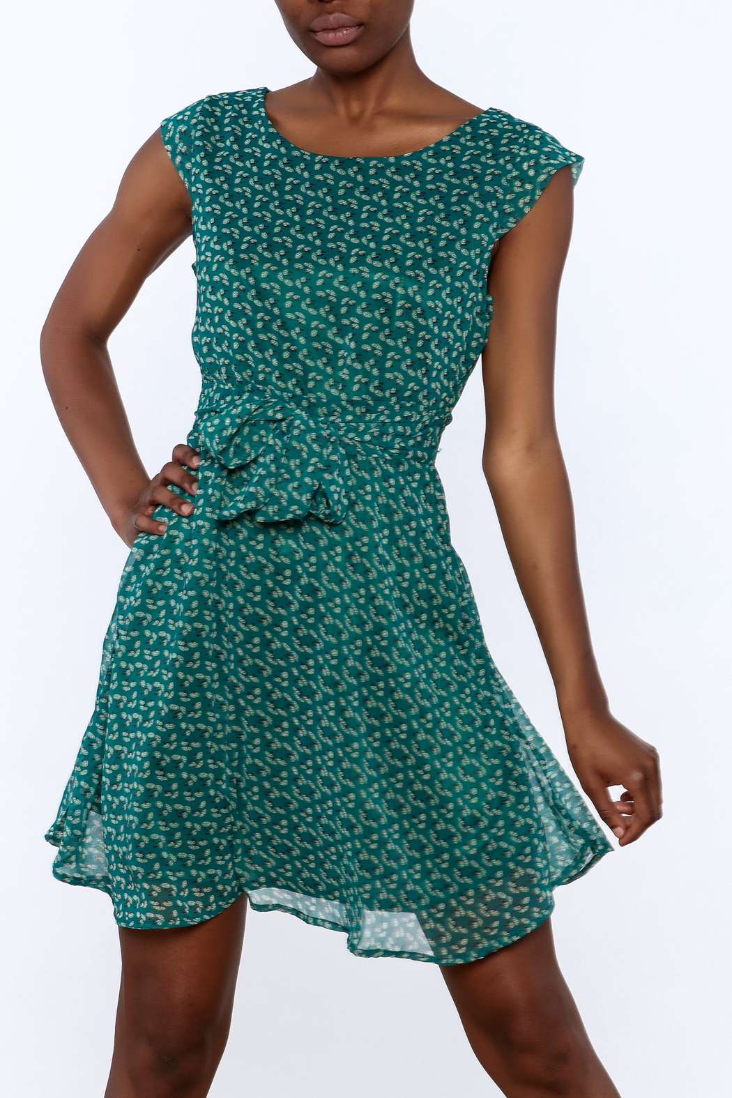 Fashion Pickle Jade Shirin Dress - Front Cropped Image