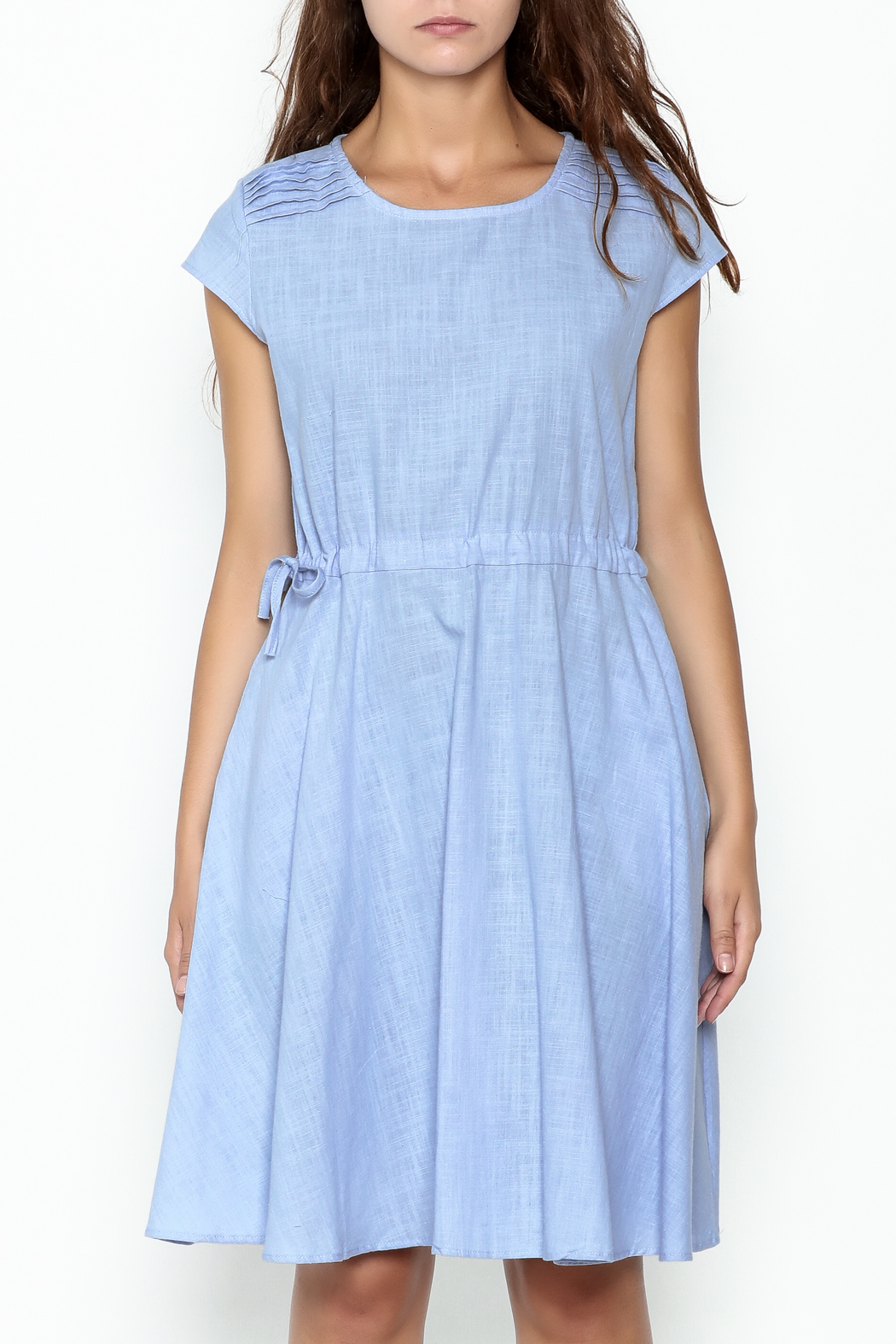 Fashion Pickle Sky Blue Dress - Front Full Image