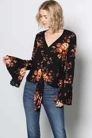 Grade and Gather Fashion Printed Blouse - Other
