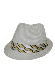 Cap Zone Fashion Silk-Pattern Fedora - Product Mini Image