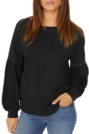 Sanctuary Fashion Stud Sweatshirt - Product Mini Image